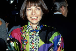 Anna Wintour circa 1990 in New York. (Photo by Sonia Moskowitz/Image/Getty Images)