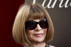 "Anna Wintour attends the world premiere of ""Ocean's 8"" at Alice Tully Hall on Tuesday, June 5, 2018, in New York. (Photo by Evan Agostini/Invision/AP)"