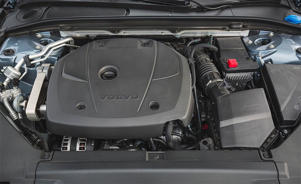 a car engine: Volvo S90 T6 Inscription Is an Elegant Alternative to the Luxury Status Quo