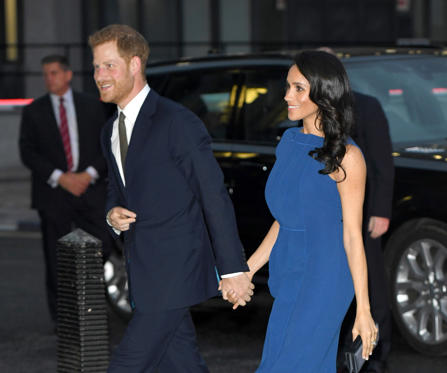 Slide 2 of 75: LONDON, ENGLAND - SEPTEMBER 06:  (EMBARGOED FOR PUBLICATION IN UK NEWSPAPERS UNTIL 24 HOURS AFTER CREATE DATE AND TIME) Meghan, Duchess of Sussex and Prince Harry, Duke of Sussex attend the '100 Days To Peace' concert to commemorate the centenary of the end of the First World War at Central Hall Westminster on September 6, 2018 in London, England.  The evening will benefit three mental health charities 'Help for Heroes', 'Combat Stress' and 'Heads Together'.  (Photo by Karwai Tang/WireImage)