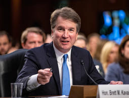 Brett Kavanaugh testifies before the United States Senate Judiciary Committee on his nomination as Associate Justice of the US Supreme Court to replace the retiring Justice Anthony Kennedy on Capitol Hill in Washington, DC. Supreme Court nominee Brett Kavanaugh confirmation hearing, Washington DC, USA - 06 Sep 2018