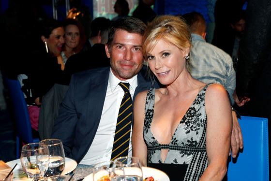 Slide 2 of 46: WEST HOLLYWOOD, CA - SEPTEMBER 24: Scott Phillips (L) and actress Julie Bowen attend the Los Angeles LGBT Center 47th Anniversary Gala Vanguard Awards at Pacific Design Center on September 24, 2016 in West Hollywood, California.  (Photo by Rich Polk/Getty Images for Los Angeles LGBT Center)