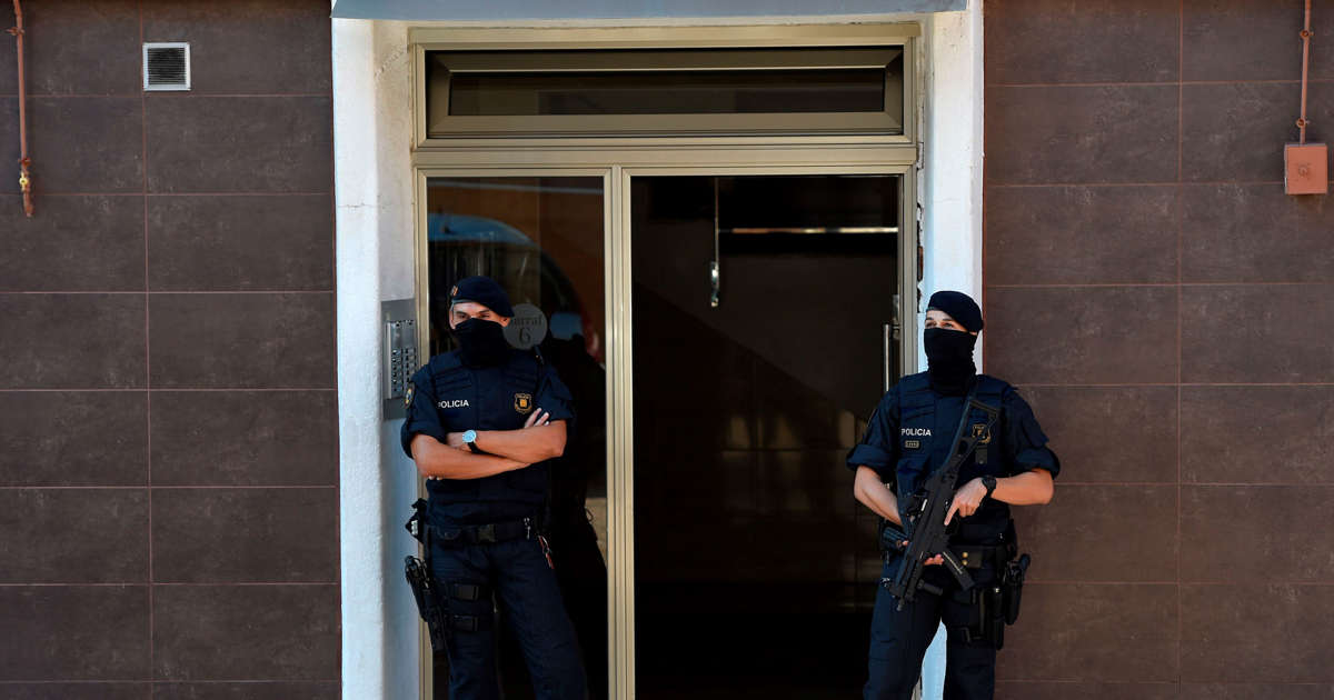 Spanish police say treating knife attack at police station as 'terrorist'
