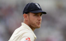 Stuart Broad achieves a rare double
