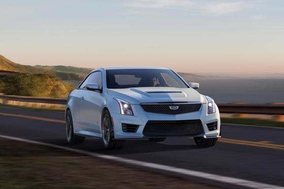 Slide 1 of 34: 2019 Cadillac ATS-V Coupe
