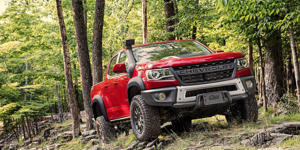 Chevrolet's Colorado ZR2 Bison Is Ready to Take on the Ford Ranger Raptor: For the looming battle against Ford's Ranger Raptor, Chevrolet has launched a preemptive strike by fitting more off-road parts to the Colorado ZR2.