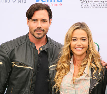 Slide 3 of 74: Aaron Phypers Cameron and Denise Richards attend the Eastwood Ranch Foundation's Wags, Whiskers and Wine Event on May 12, 2018 in Malibu, California.