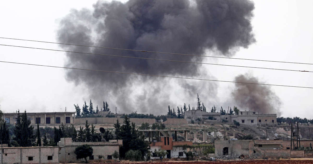 Russia says U.S. dropped phosphorus bombs over Syria, which Pentagon denies