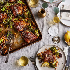 food on a table: 11 Big-Batch Dinners to Get You Through the Busy Fall Rush