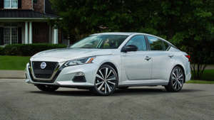 a car parked in a parking lot: 2019 Nissan Altima: First Drive