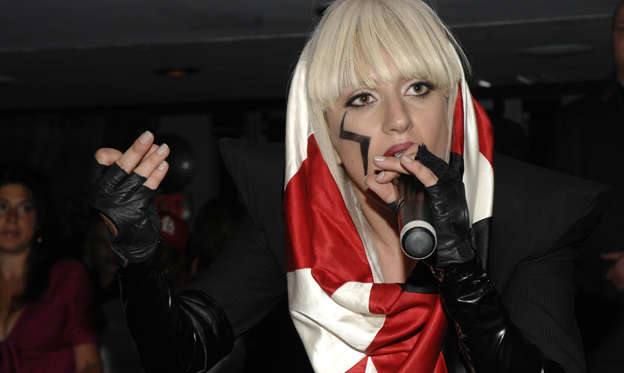 幻灯片 22 - 2: WEST HOLLYWOOD, CA - JUNE 10: Lady Gaga attends DYLAN GEORGE Launch Party at AREA on June 10, 2008 in West Hollywood, Ca. (Photo by ANDREAS BRANCH/Patrick McMullan via Getty Images)