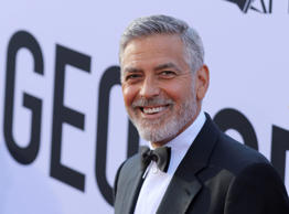 George Clooney arrives at the 46th AFI Life Achievement Award Honoring himself at the Dolby Theatre on Thursday, June 7, 2018, in Los Angeles. (Photo by Willy Sanjuan/Invision/AP)