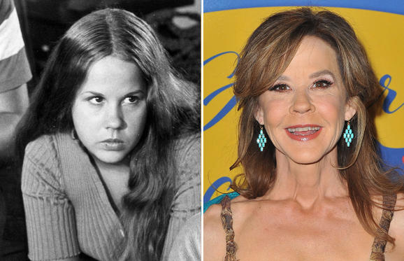 Slide 1 of 25: FILM STILLS OF 'EXORCIST' WITH 1973, LINDA BLAIR, WILLIAM FRIEDKIN IN 1973; BEVERLY HILLS, CA - JANUARY 07: Actress Linda Blair arrives at 2018 American Rescue Dog Show on January 7, 2018 in Beverly Hills, California. (Photo by Jerod Harris/WireImage)
