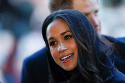 NOTTINGHAM, ENGLAND - DECEMBER 01:  Meghan Markle visits Nottingham Contemporary on December 1, 2017 in Nottingham, England.  Prince Harry and Meghan Markle announced their engagement on Monday 27th November 2017 and will marry at St George's Chapel, Windsor in May 2018.  (Photo by Adrian Dennis - WPA Pool/Getty Images)