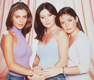 1999 Alyssa Milano, Shannen Doherty, And Holly Marie Combs Star In 'Charmed.' (Photo By Getty Images)