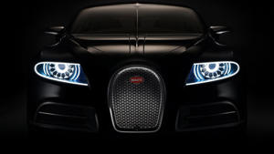 a close up of a car: Bugatti Galibier concept