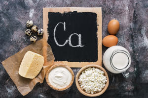 Products rich in calcium