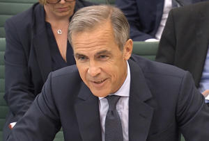 Mark Carney, the Governor of the Bank of England, speaks to the Houses of Parliament's Treasury Committee, in London, Britain, September 4, 2018. Parliament TV Handout via REUTERS  FOR EDITORIAL USE ONLY. NOT FOR SALE FOR MARKETING OR ADVERTISING CAMPAIGNS  THIS IMAGE HAS BEEN SUPPLIED BY A THIRD PARTY
