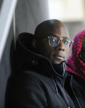 NEW YORK, NY - NOVEMBER 08:  Director Barry Jenkins on the movie set of 'If Beale Street Could Talk' (Deux Soeurs)  on November 8, 2017 in New York City.  (Photo by Bobby Bank/GC Images)