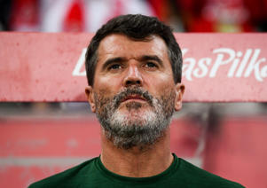Roy Keane during the International Friendly match between Poland and Republic of Ireland