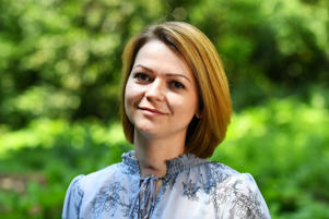 Yulia Skripal, who was contaminated with the nerve agent Novichok along with her father Sergei Skripal.