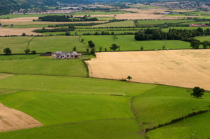 Farmland on the Carse of Stirling fertile farmland next to the River Forth Scotland. (Photo by: Wayne Hutchinson/Farm Images/UIG via Getty Images)