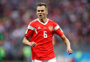 File Photo-Russia's Denis Cheryshev