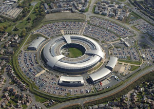 Undated handout file photo issued by GCHQ of the GCHQ building in Cheltenham.
