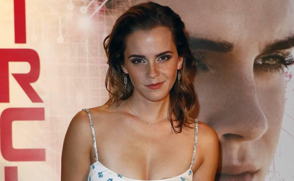 Así luce Emma Watson disfrazada de 'Wonder Woman'