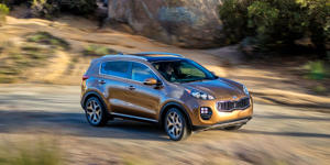 The 2019 Kia Sportage Is a Strange but Solid Compact Crossover: The Kia Sportage is odd to look at but fun to drive, which makes it a solid choice in this competitive class.