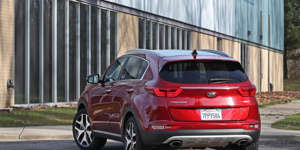 Cargo Space and Storage: The Kia Sportage has limited cargo volume and lackluster interior cubby storage, but it's not the worst in its class.