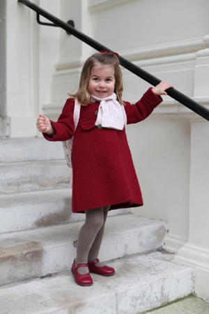 Kate took the adorable photos of Princess Charlotte on her first day of nursery