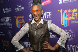 NEW YORK, NY - OCTOBER 15:  Carla Hall hosts Midnight Jazz Breakfast, along with Patti LaBelle, at The Cecil on October 15, 2016 in New York City.  (Photo by Bennett Raglin/Getty Images for NYCWFF)
