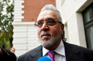 Vijay Mallya arrives at Westminster Magistrates Court in London, Britain, September 12, 2018. REUTERS/Toby Melville