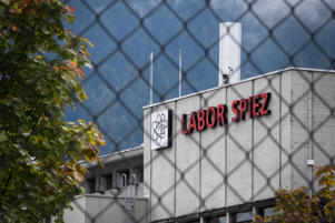 This picture taken on September 14, 2018 shows the Spiez Laboratory, Swiss Federal Institute for NBC-Protection (nuclear, biological, chemical), in Spiez, 40km from the capital Bern, as Swiss newspapers reported that two Russian agents suspected of trying to spy the laboratory were arrested in the Netherlands and expelled early this year. - At the time, Spiez was analysing data related to poison gas attacks in Syria, as well as the March 4 attack using the nerve agent Novichok on Russian double agent Sergei Skripal and his daughter in Salisbury, Swiss newspapers reported. (Photo by Fabrice COFFRINI / AFP)        (Photo credit should read FABRICE COFFRINI/AFP/Getty Images)