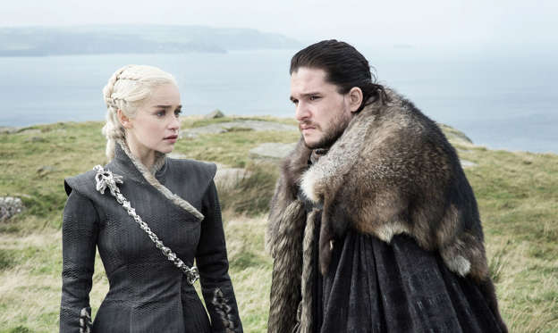幻灯片 14 - 1: Emilia Clarke, Kit Harington