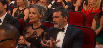 Watch Antonio Banderas awkwardly clap during 2018 Emmys