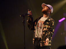 OAKLAND, CA - NOVEMBER 09:  Rapper Mac Miller performs at Fox Theater on November 9, 2016 in Oakland, California.  (Photo by C Flanigan/FilmMagic)