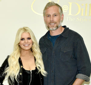 CAPTION: NASHVILLE, TN - APRIL 07: Jessica Simpson and Eric Johnson take photos during a spring style event in Dillards at The Mall at Green Hills hosted by Jessica Simpson on April 7, 2018 in Nashville, Tennesse (Photo by John Shearer/Getty Images for Jessica Simpson Collection )