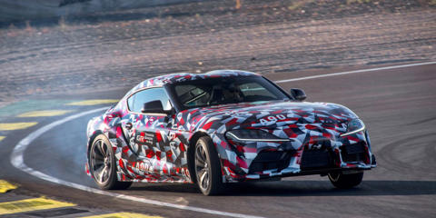 Driving the 2020 Toyota Supra prototype reminds us that Toyota's engineers certainly haven't forgotten how to do a rear-wheel-drive, six-cylinder sports car.