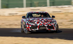 a car driving on a road: The 2020 Supra Proves Toyota Hasn't Forgotten How to Make a Sports Car