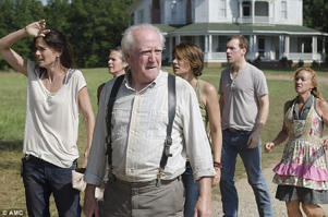 Scene-stealer: His The Walking Dead character Hershel Greene, like Wilson himself, is from Georgia, though unlike Wilson he is a veterinarian protecting his family from zombies