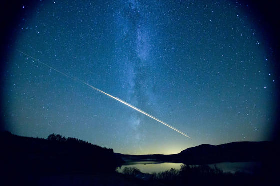 Slide 2 of 16: Meteor above the Galloway Forest Park 21 Sep 2012