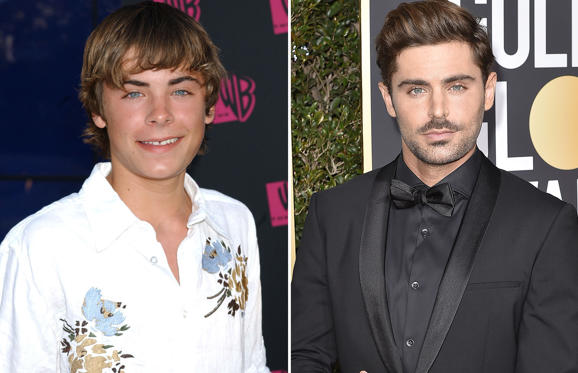 Dia 1 van 80: The WB Network's 2004 All Star Summer Party - Arrivals Zac Efron; Zac Efron attends the 75th Annual Golden Globe Awards - Arrivals at The Beverly Hilton Hotel on January 7, 2018 in Beverly Hills, California.