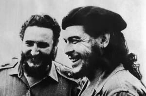 Fidel Castro and Che Guevara in Havana, Cuba in 1958