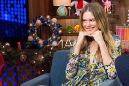 WATCH WHAT HAPPENS LIVE -- Pictured: Behati Prinsloo -- (Photo by: Charles Sykes/Bravo/NBCU Photo Bank via Getty Images)