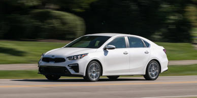 The new Kia Forte may not embrace the athleticism of the Stinger, but it's a spacious, comfortable, and stylish small car at a great price.