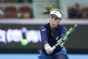 Johanna Konta's run ended at the last four stage