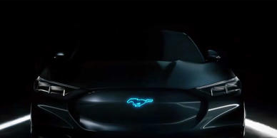 Ford's new ad campaign, which features actor Bryan Cranston, shows a glimpse at the next Mustang hybrid.