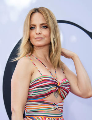 Actress Mena Suvari attends the 'Book Club' premiere on May 6, 2018 in Westwood, California. (Photo by VALERIE MACON / AFP)        (Photo credit should read VALERIE MACON/AFP/Getty Images)